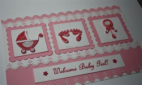 Handmade Welcome Cards - craft ideas for all handmade welcome baby greeting
