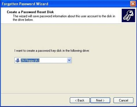 create password reset disk xp how to create a windows xp password reset disk free and