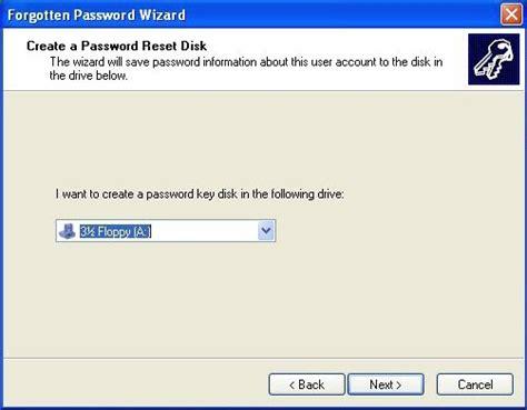 reset password windows xp external drive how to create a windows xp password reset disk free and