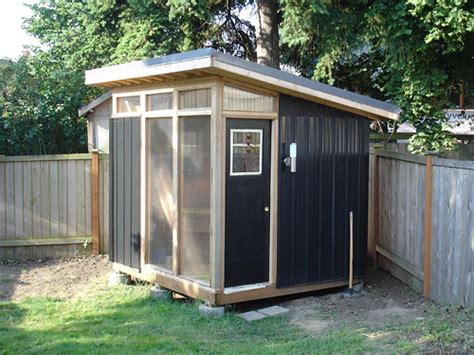 Modern Shed Design by Triyae Modern Backyard Shed Designs Various Design