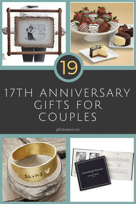 42 Good 17th Wedding Anniversary Gift Ideas For Him & Her