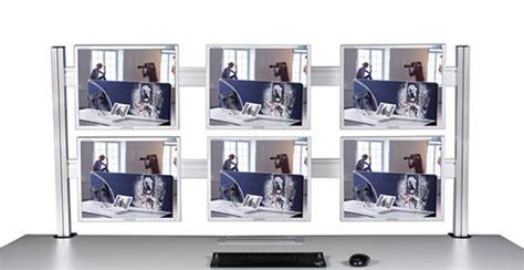 2 Schreibtische Nebeneinander by Leitstandtische Tische Mit Mehreren Monitoren Zu