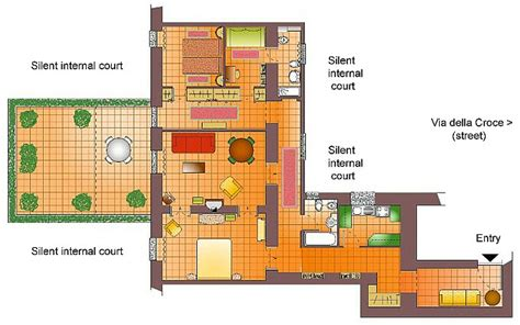 large apartment floor plans rome steps via della croce floor plan of large three bedroom apartment with terrace