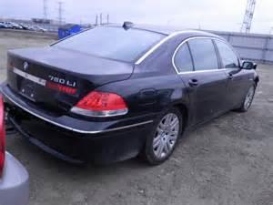 2004 Bmw 760li Wbagn83584dk11237 Bidding Ended On 2004 Black Bmw 760li