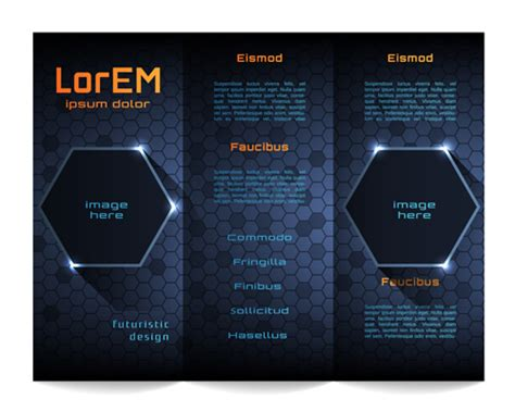 technical brochure template 1 best agenda templates