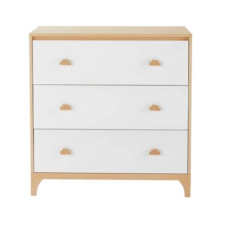 Commode Bebe Blanche by Commode Enfant 3 Tiroirs Blanche Moonlight Maisons Du Monde
