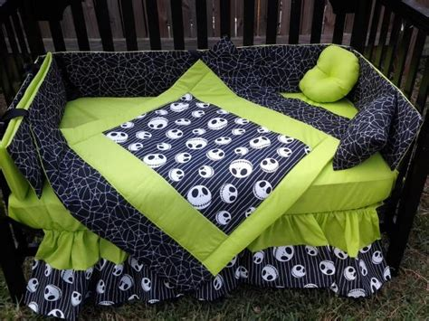 nightmare before christmas crib bedding new crib bedding set m w jack nightmare before christmas