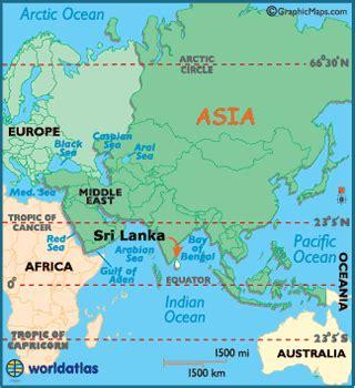 sri lanka map / geography of sri lanka / map of sri lanka