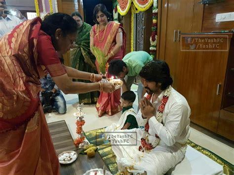 Yash and Radhika Pandit's marriage celebration begins