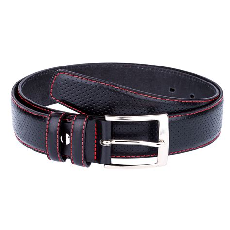 8 Most Fashionable Belts To Jazz Up Any by Golf Belts For Black Perforated Leather Belt