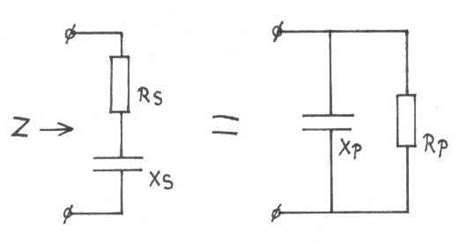 impedance of capacitor and resistor in series complex impedances a introduction