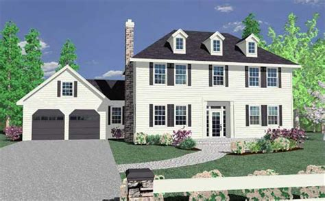 Colonial Home Designs Paul Revere S House Hip Roof Colonial House Plans