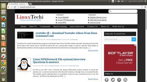 how to install chrome on ubuntu how to install latest version of google chrome on ubuntu linux