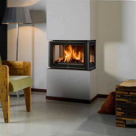 Three Sided Wood Burning Fireplace Fireplace Designs Sided Wood Burning Fireplace