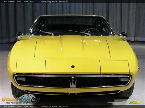 yellow maserati ghibli 1967 maserati ghibli yellow black photo 4 dealerrevs com