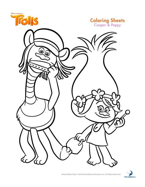 best coloring books trolls coloring pages best coloring pages for