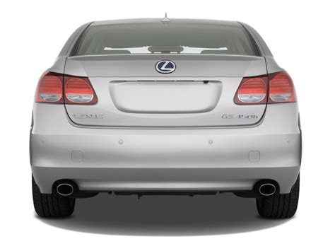 lexus sedans 2008 image 2008 lexus gs 450h 4 door sedan hybrid rear