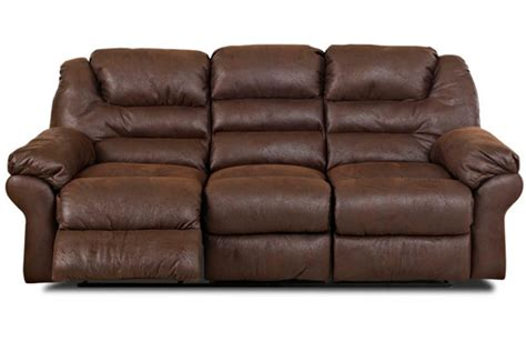 Cocoa Reclining Sofa by Ace Cocoa Reclining Sofa