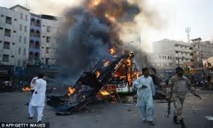 1440032971 the tragedy of man dramatic karachi explosion dramatic moment bus explodes in