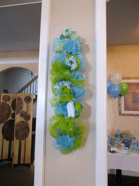 Green Baby Shower Decorations by Blue And Green Baby Shower Ideas