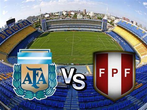vs peru 191 argentina vs per 250 se jugar 225 en la bombonera por