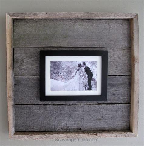 diy wooden frame easy pallet wood frame my repurposed 174