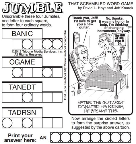 printable jumble games st louis today play the daily jumble