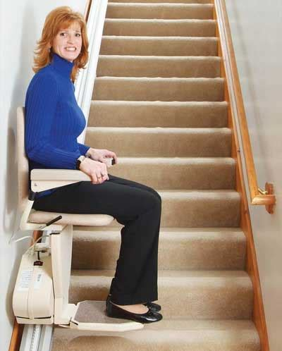 facilitate the lives of your grandparents with a stairway