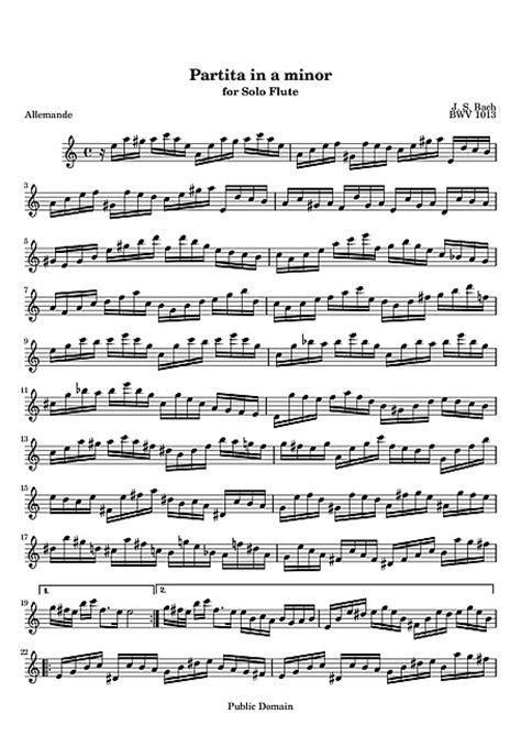 Partita per flauto solo (Partita for solo flute) Original