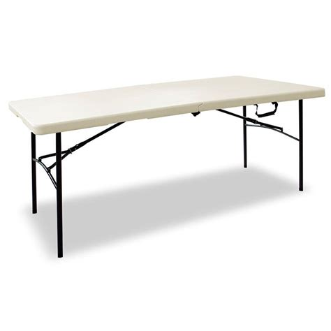 Folding 6 Foot Table Upc 044413307295 Hdx Folding Tables 6 Ft Folding Table 3072fx Upcitemdb