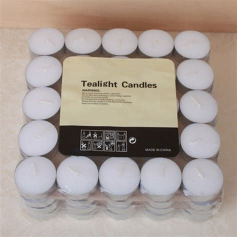 sample supply high quality wholesale tealight candles