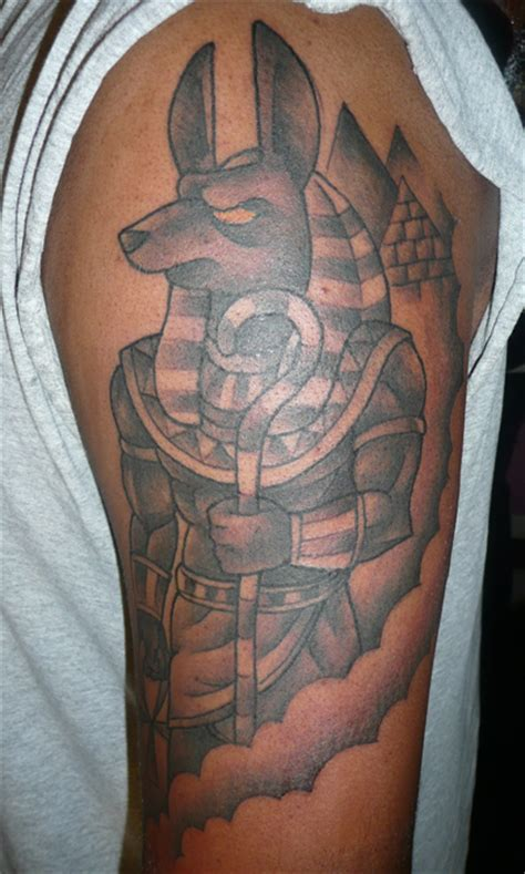 anubis tattoos designs ideas and meaning tattoos for you