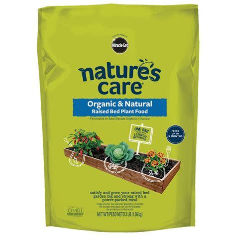 miracle gro  lbs organic raised bed plant food