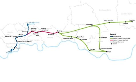 crossrail   eastern phase  hackney claims