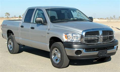 File:2008 Dodge RAM 1500 SXT 4 door pickup    NHTSA 01