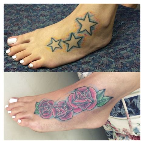 foot tattoo cover up 1000 images about cover up tattoos on cover