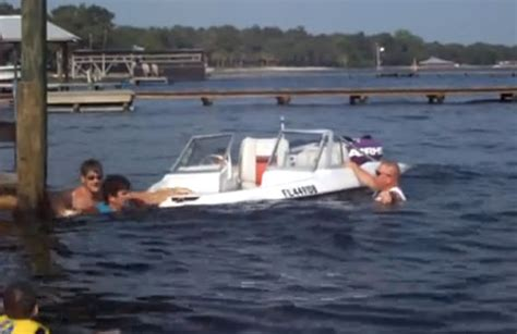 small boat fails boat fail there s taking on water and then there s this