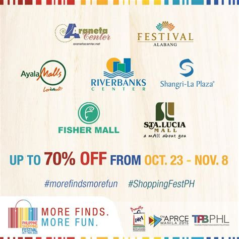 current events in the philippines from november 2015 manila shopper philippine shopping festival oct 23 nov 8