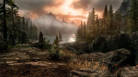 hd wallpapers 1920x1080 video game skyrim scenery wallpaper 83 images