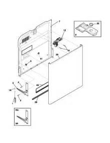 Dishwasher Parts Kenmore Kenmore Dishwasher Racks Parts Model 58715149400