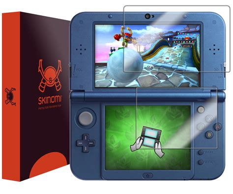 Screen Protector New 3ds Xl skinomi techskin new nintendo 3ds xl screen protector 2015