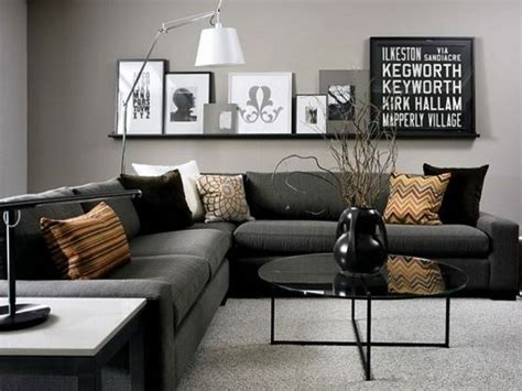black white gray living room contemporary black and grey living room for the home