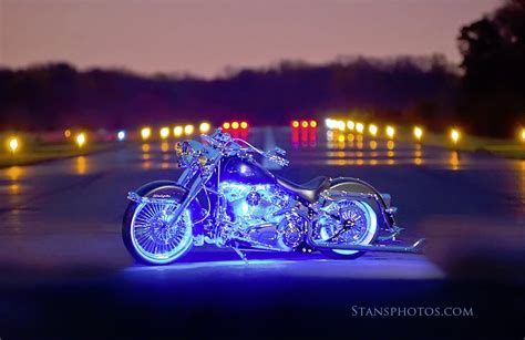 led moto per harley touring boogey lights