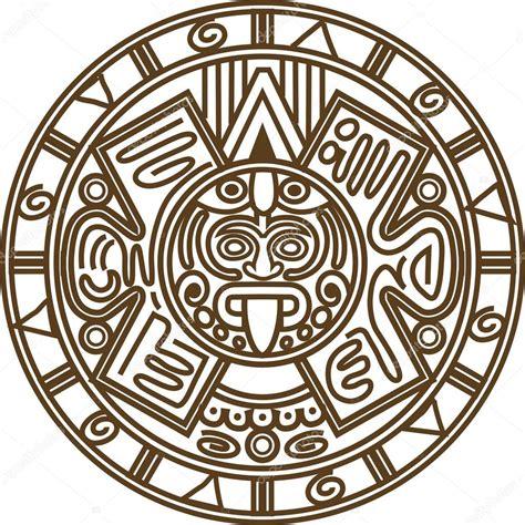 Calendario Azteca Vector Vector De Calendario Archivo Im 225 Genes Vectoriales