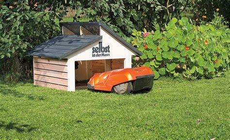 garage selbst bauen m 228 hroboter garage rasenpflege selbst de