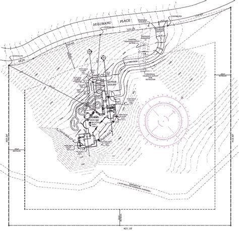 site plan for house brucall