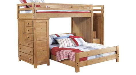creekside bunk bed creekside taffy step bunk bed w chest bunk chest
