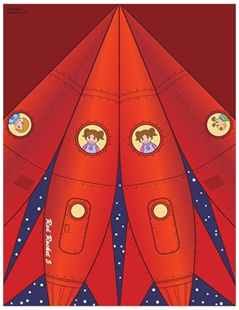 printable paper rockets cute maybe use it with kindermusik young child i