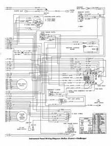 dodge challenger 1970 instrument panel wiring diagram rallye cluster all about wiring diagrams