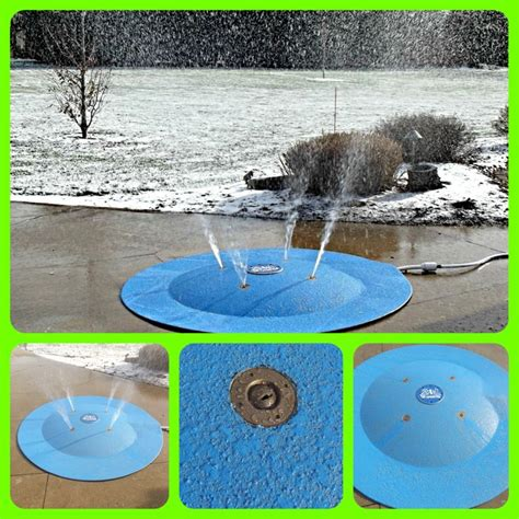winter garden water department 1000 images about portable splash pad instant splash